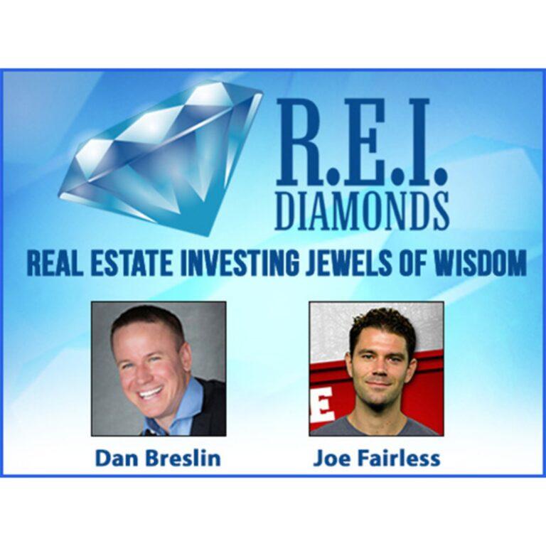 REI Diamonds Show with Dan Breslin on Raising Private Money for Single Family Flips